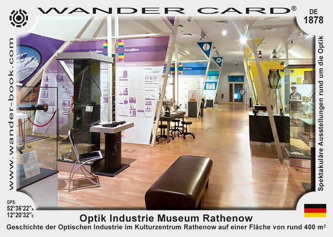 Optik Industrie Museum Rathenow