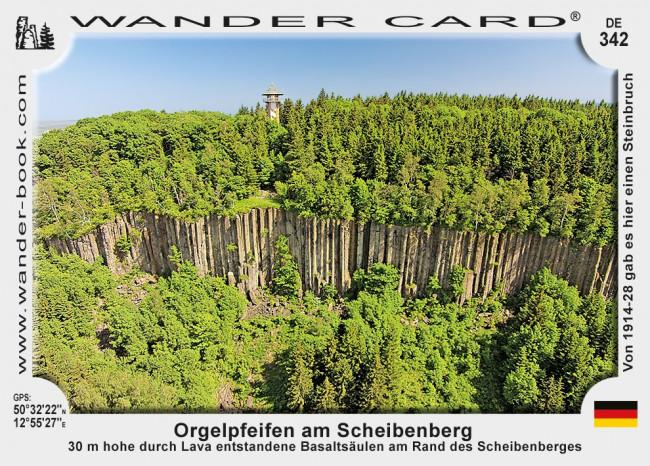 Orgelpfeifen am Scheibenberg