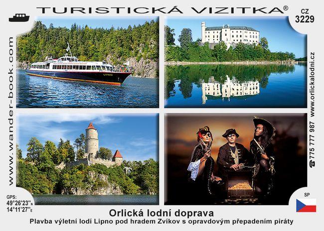 Orlická lodní doprava