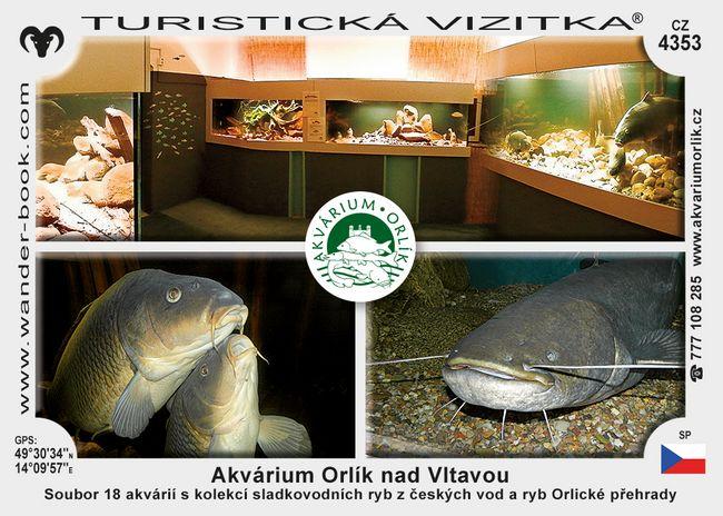 Akvárium Orlík nad Vltavou