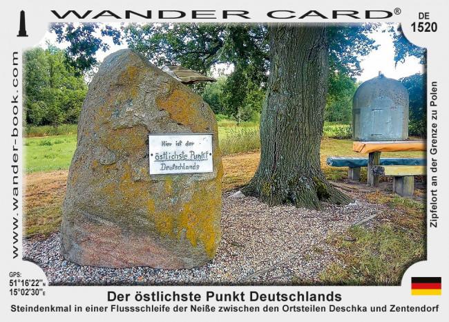 Der östlichste Punkt Deutschlands