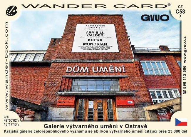 Ostrava galerie výtvarného umění