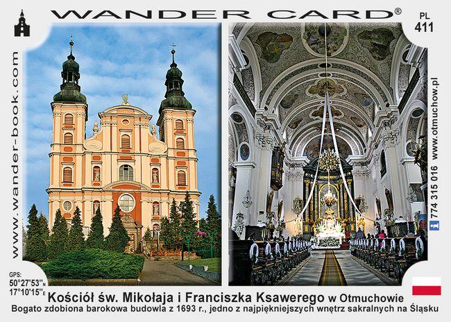 Otmuchow kościół Mikołaja i Franciszka