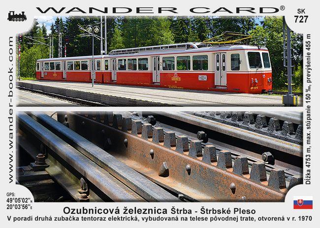 Ozubnicová železnica Štrba – Štrbské Pleso