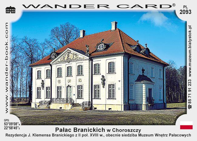 Pałac Branickich w Choroszczy
