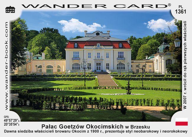 Pałac Goetzów Okocimskich w Brzesku