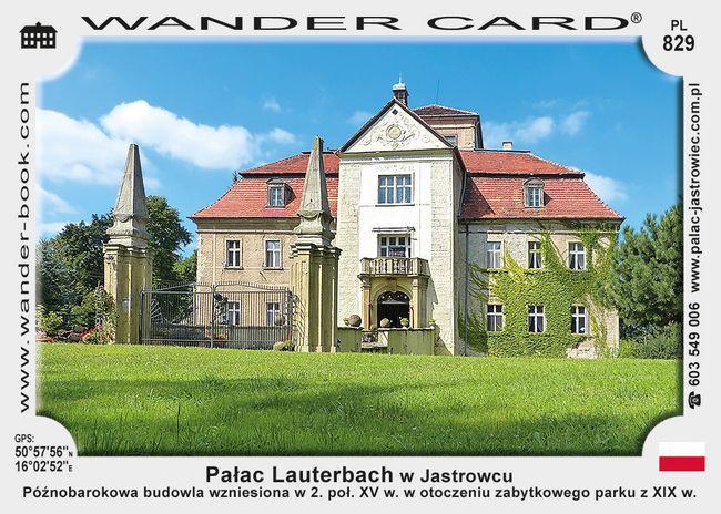 Pałac Lauterbach w Jastrowcu