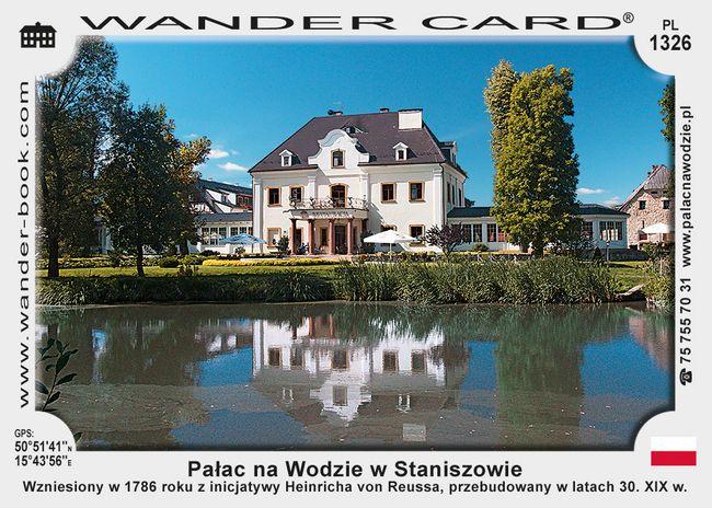 Pałac na Wodzie w Staniszowie
