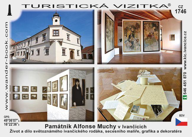 Památník Alfonse Muchy v Ivančicích