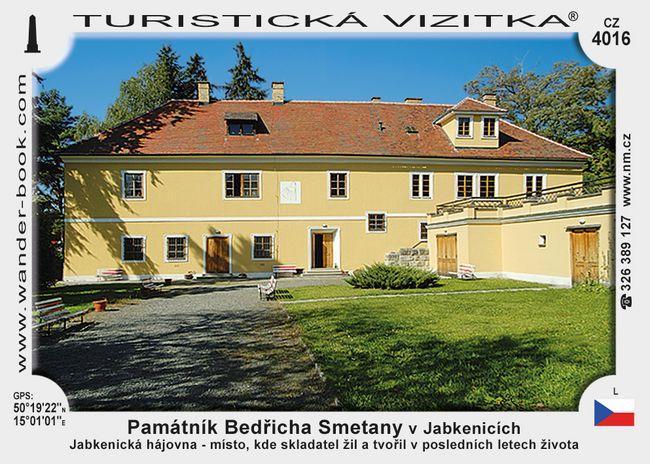 Památník Bedřicha Smetany v Jabkenicích