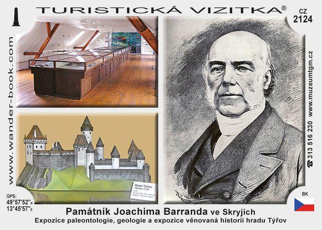 Památník Joachima Barranda ve Skryjích