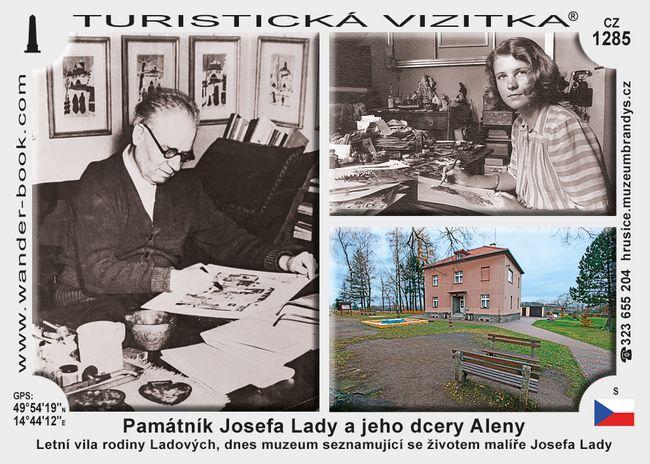 Památník Josefa Lady a jeho dcery Aleny