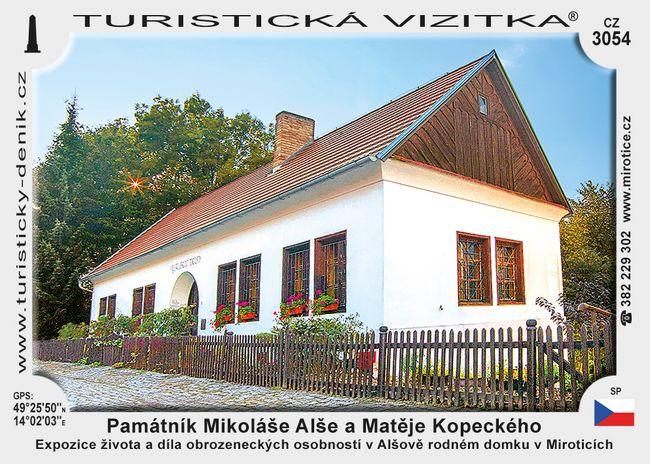 Památník M. Alše a M. Kopeckého