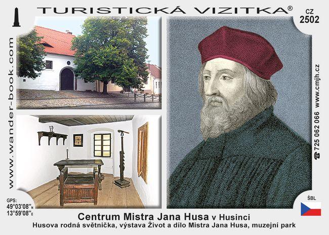 Památník Mistra Jana Husa v Husinci