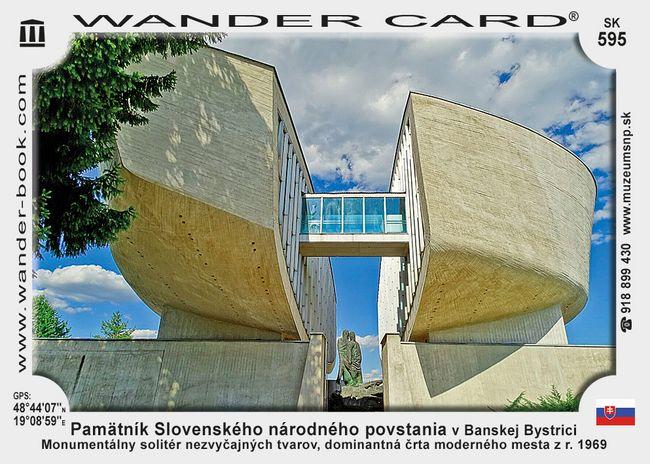 Pamätník Slovenského národného povstania v Banskej Bystrici