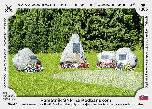Pamätník SNP na Podbanskom