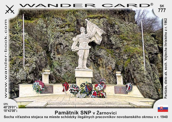 Pamätník SNP v Žarnovici