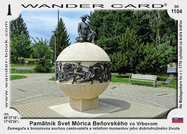 Pamätník Svet Mórica Beňovského vo Vrbovom