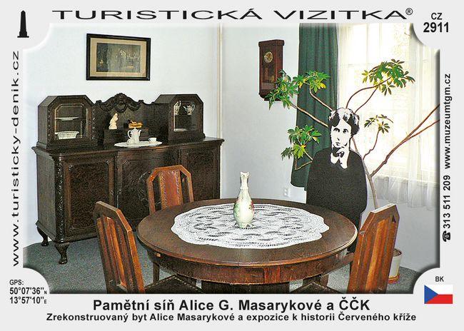 Pamětní síň Alice G. Masarykové a ČČK