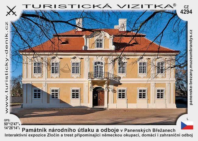 Památník národního útlaku a odboje v Panenských Břežanech