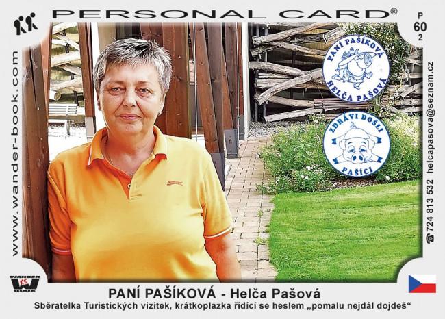 PANÍ PAŠÍKOVÁ - Helča Pašová