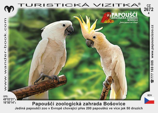 Papouščí zoologická zahrada Bošovice