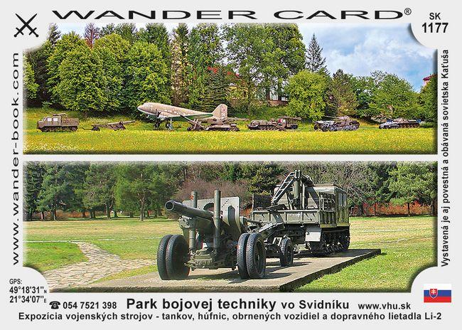 Park bojovej techniky vo Svidníku