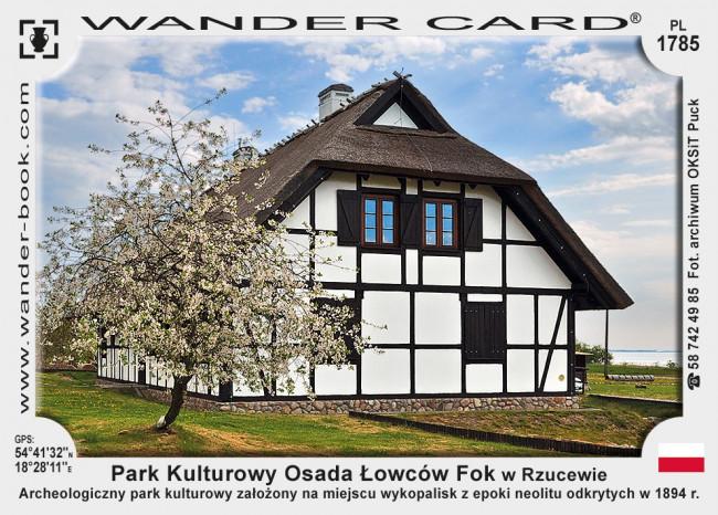 Park Kulturowy Osada Łowców Fok w Rzucewie