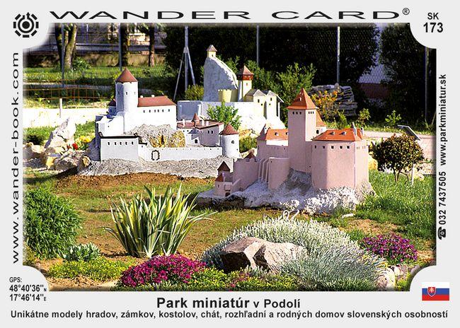 Park miniatur v Podolí