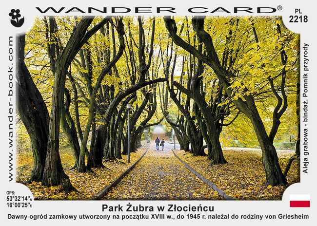 Park Żubra w Złocieńcu