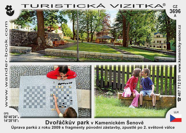 Parky v Kamenickém Šenově D