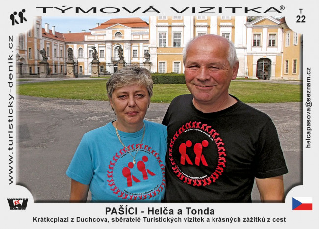 PAŠÍCI - Helča a Tonda