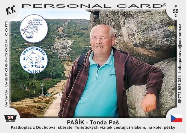 Pašík - Tonda Paš