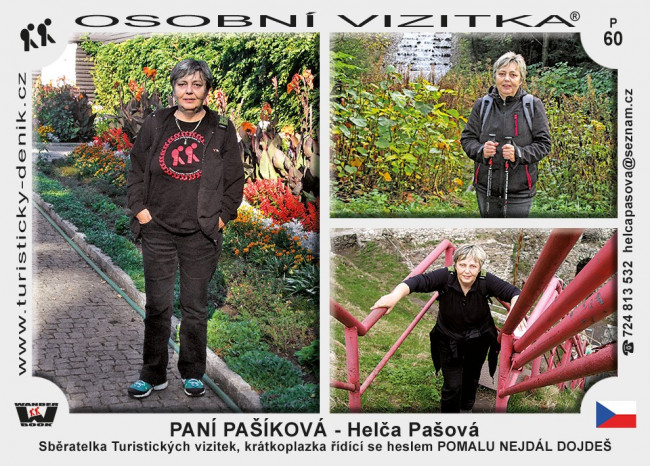 Pašová Helena - PANÍ PAŠÍKOVÁ