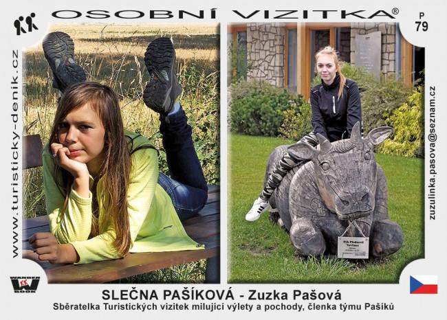 Pašová Zuzka - slečna Pašíková