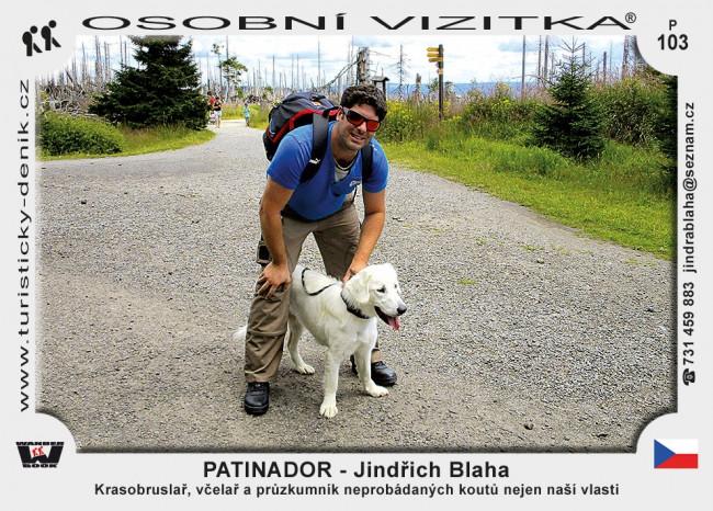 PATINADOR - Jindřich Blaha