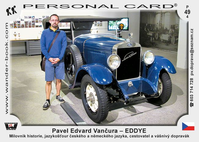 Pavel Edvard Vančura – EDDYE