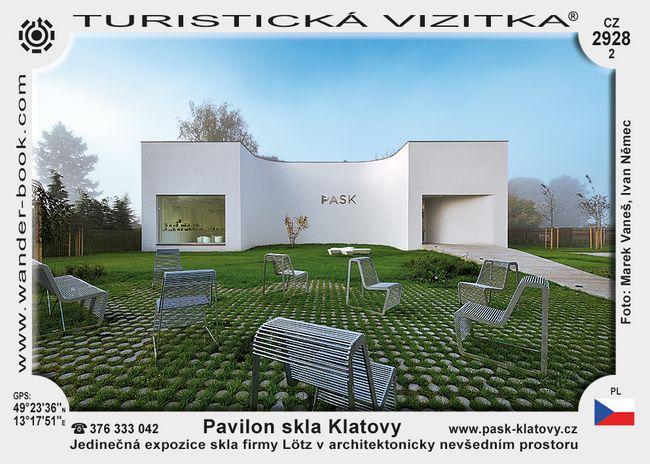 Pavilon skla Klatovy