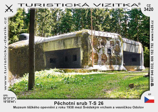 Pěchotní srub T-S 26