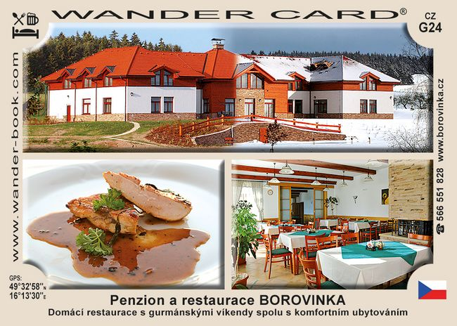 Penzion a restaurace Borovinka