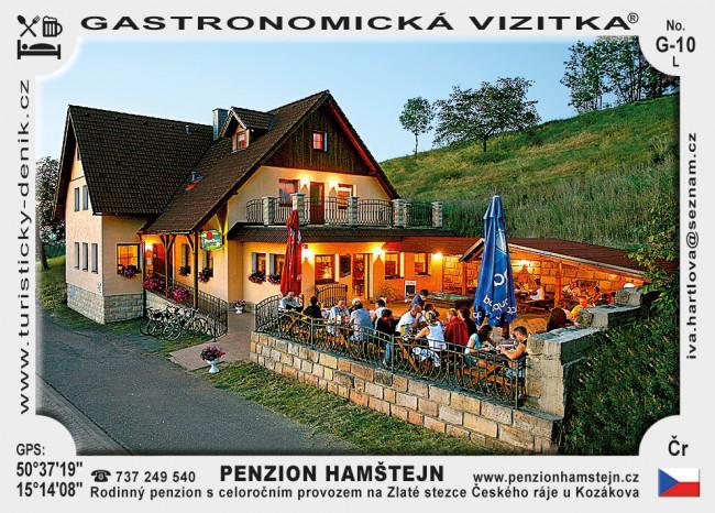 Penzion Hamštejn LETNÍ