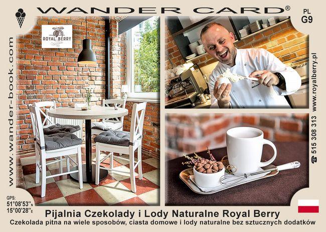 Pijalnia Czekolady i Lody Naturalne Royal Berry