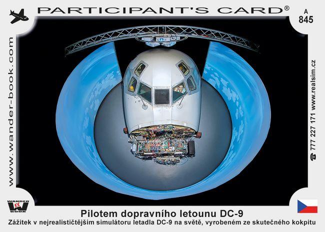 Pilotem dopravního letounu DC-9
