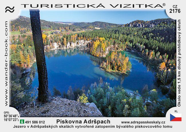 Pískovna Adršpach