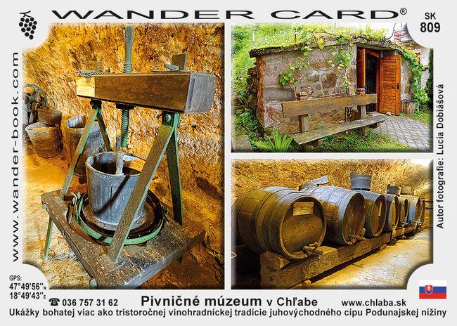 Pivničné múzeum v Chľabe