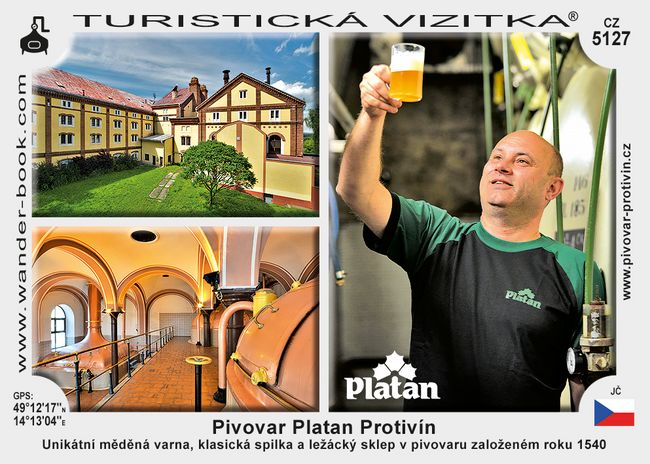 Pivovar Platan Protivín