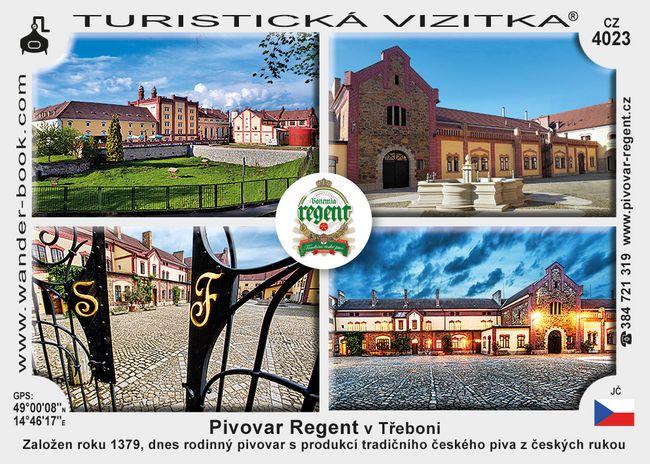 Pivovar Regent v Třeboni