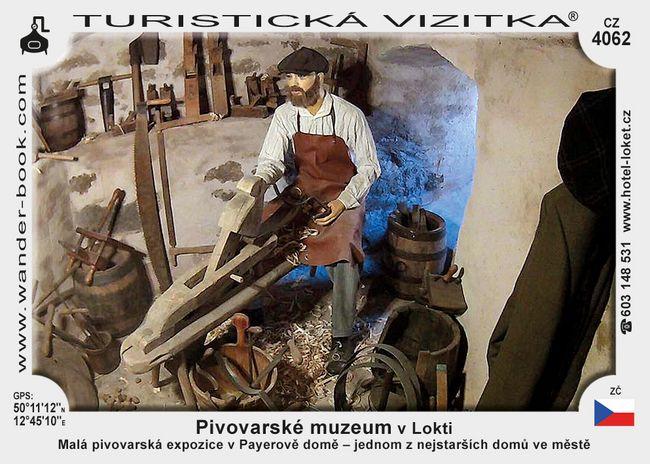 Pivovarské muzeum v Lokti