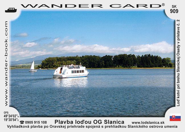 Plavba loďou OG Slanica