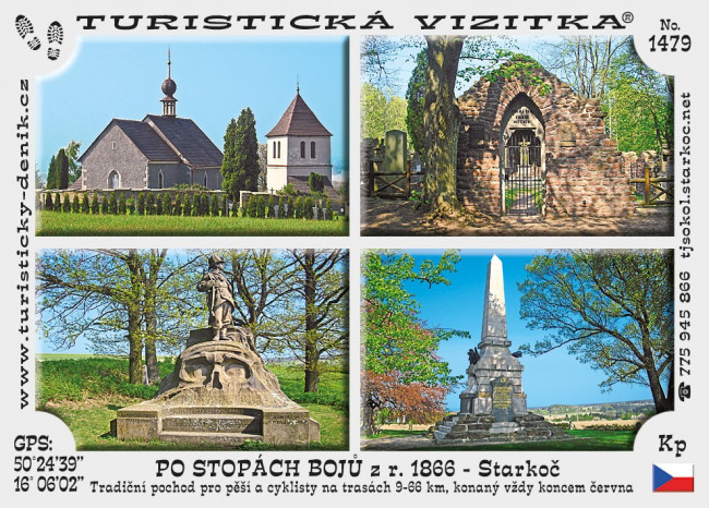 Po stopách bojů roku 1866 - Starkoč (6)